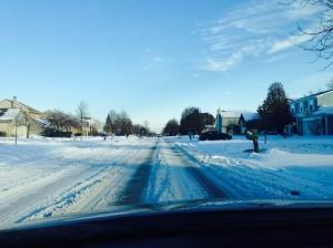 Dirigir na neve requer muita atencao