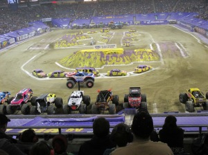 Monster Jam do Capitão América