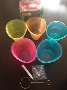 Kit para colorir os ovos