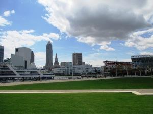 Cleveland vista do Pier
