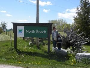 Praias formadas pelo lake Ontario em Prince Edward island