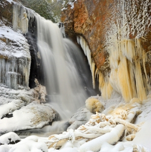 Munising_Waterfalls